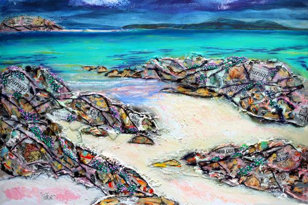 Iona rocks painting